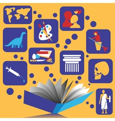 Book and knowledge vector