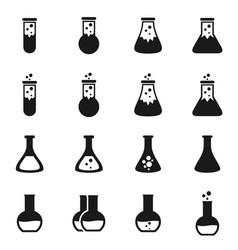 Chemistry icon vector