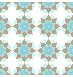 Ethnic oriental geometric seamless pattern vector
