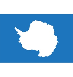 Flags of antarctica vector
