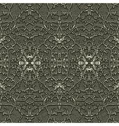 Silver grid vector image vector image