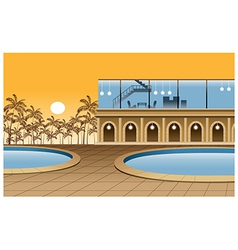 Modern Luxury Home vector image