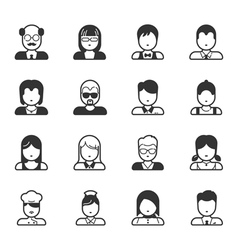 User icons and people icons  eps10 format vector