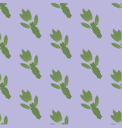 Brussels sprouts vegetable pattern vector