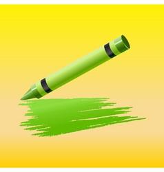 crayon vector image vector image