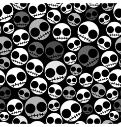 Emo seamless pattern vector
