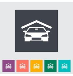 Garage icon vector