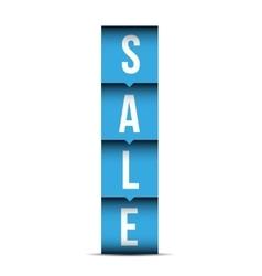 Sale label lettering vector image vector image
