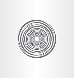 Spiral abstract circle tornado background vector