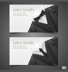 triangle jacket card vector image