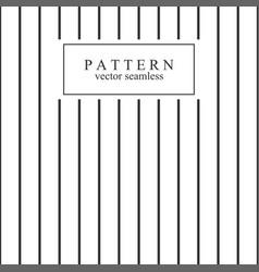 minimal geometric striped seamless pattern vector image