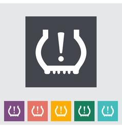 Tire pressure vector