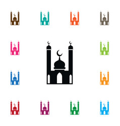 Isolated religion icon mohammedanism vector