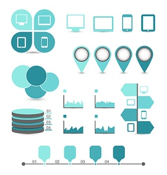 Infographic design elements ideal to display vector