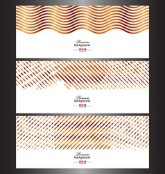 Abstract technology banner templates vector