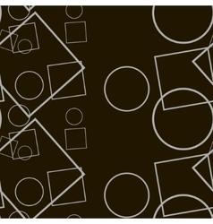 Black geometric contrast vector image