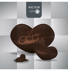 Chocolate icon design vector image