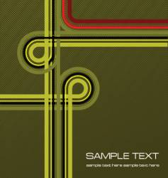 cover with junction vector image