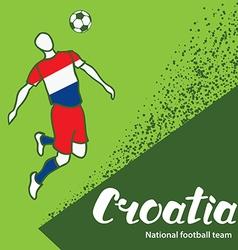 Croatia 4 vector image