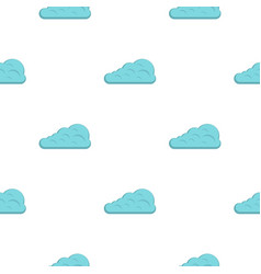 Cumulus cloud pattern flat vector