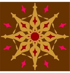 Ornament in color 52 vector image