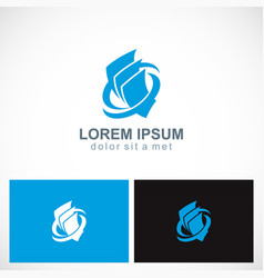 paper document business company logo vector image