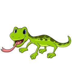 Salamander cartoon vector