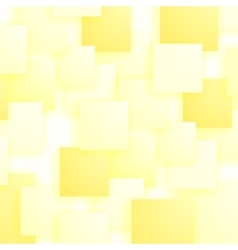 Set of Yellow Squares Squares Pattern vector image