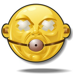 smilie vector image vector image