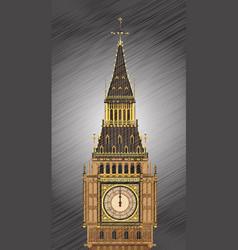 striking midnight vector image vector image