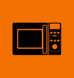 Micro wave oven icon vector