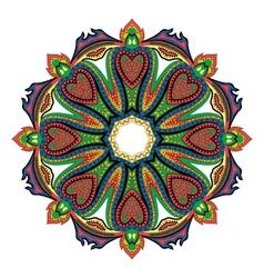 Hearts Mandala vector image