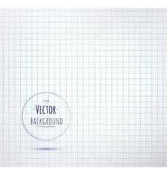 Notebook paper background vector