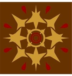 Ornament in color 57 vector image