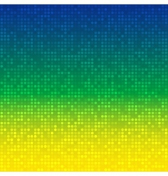 Abstract Background using Brazil flag colors vector image vector image