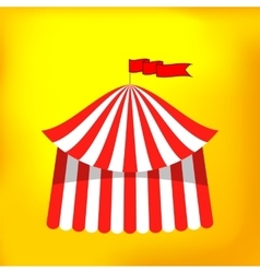 Circus Tent Icon vector image