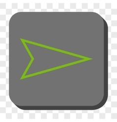 Pointer right rounded square button vector