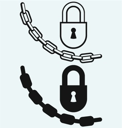 Chain and lock vector