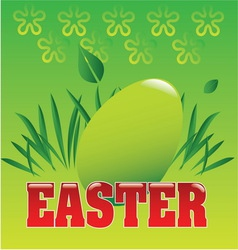 spring easter 2 vector image