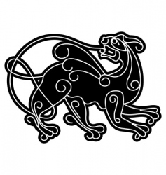 smartly slavic mythical deity vector image