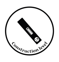 Icon of construction level vector