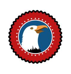 American hawk symbol vector