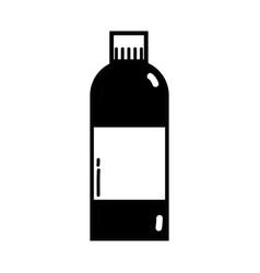 Contour liquit bleach in bottle design to clean vector