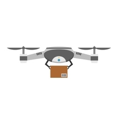 Drone quadcopter isolated vector image vector image