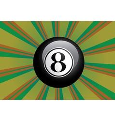 Eight ball vector