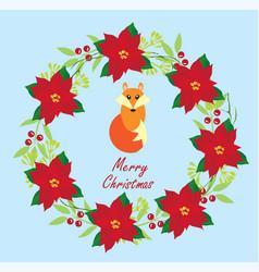 fox card vector image