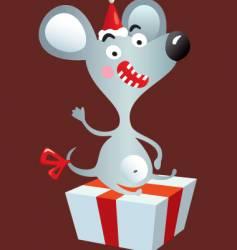 happy rat vector image
