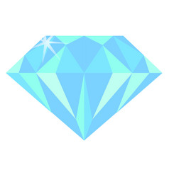real diamond vector image