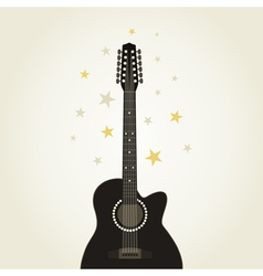 Guitar9 vector image