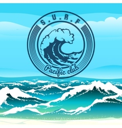 Surf club vector